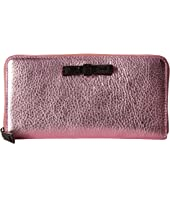 Marc Jacobs - Metallic Bow Standard Continental Wallet