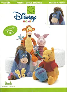 Pooh - Little Buddies (Thread crochet patterns toys, Pooh Collection)