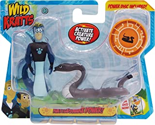 Wild Kratts Toys - 2 Pack Creature Power Action Figure Set - Rattlesnake Power