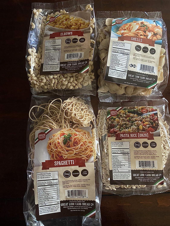 The Great Low Carb Bread Company Shells Atlanta Mall Variety sampler pack- Rare pa