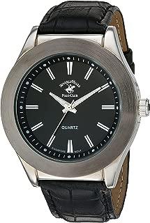 Men's ' Quartz Metal Watch, Color:Black (Model: 58768)