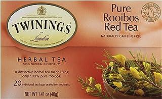 Twinings Tea Red African Rooibos Tea, 20 ct