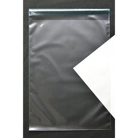 透明封筒 角2 【500枚】 CPP 50μ(0.05mm) 静電気防止処理テープ付き 横240×縦332+フタ36mm