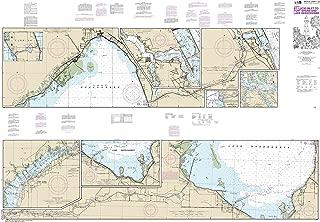 MapHouse NOAA Chart 11428 Okeechobee Waterway St. Lucie Inlet to Fort Myers; Lake Okeechobee: 41.03