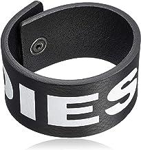 (ディーゼル) DIESEL メンズ ブレスレット X06056PR400 02 ブラック T8013