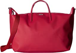 0446262add Lacoste full ace flat crossover bag