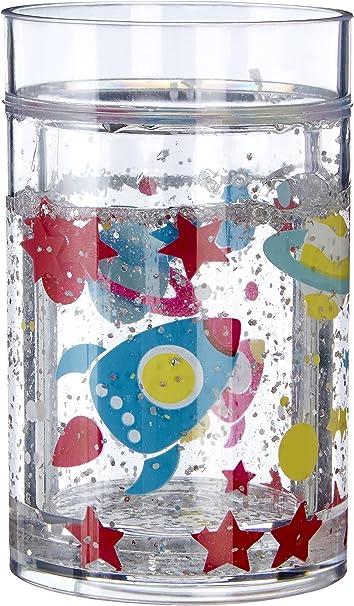 7 x 7 x 11 cm PS Premier Housewares Poliestireno Transparente Taza para ni/ños con dise/ño de Bailarina