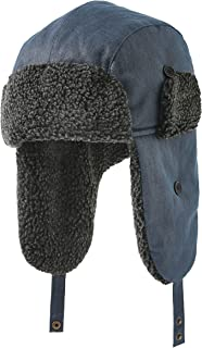 accsa Mens Cold Weather Windproof Ski Trapper Bomber Hat