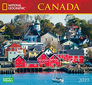 National Geographic Canada 2019 Wall Calendar