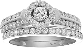 Best 1ct diamond cluster ring Reviews