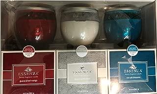 Essenza Luxury Fragrance Candle Frnch Vanilla Bean 3-Fragrance