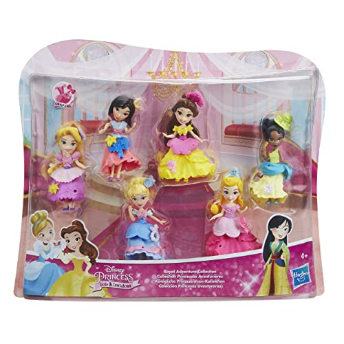 Disney Princesses Princess Poupée Collection Mini-Princesses Aventurieres Pack, E0113