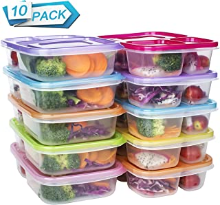reusable lunch containers with compartments