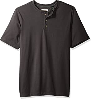 Wrangler Authentics Men's Short Sleeve Henley Tee
