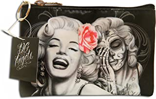 Midsouth Products David Gonzales Art Make up Bag Marilyn Monroe Smile Now Cry Later