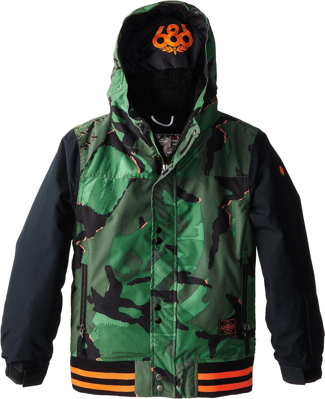 Fort Worth Mall 686 Boys Authentic Jacket Junior Cheap sale Varsity