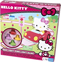 Pressman Hello Kitty Red and Pink Light Board Game