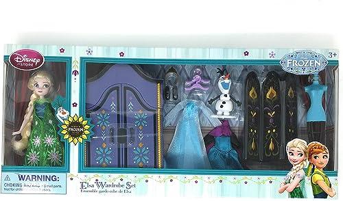 Disney Frozen Elsa Wardrobe Mini Doll Set