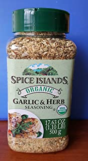 Spice Islands Organic Garlic & Herb Seasoning 17.6oz