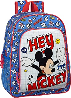 Mochila Escolar Niños de Mickey Clubhouse, 330x140x420mm, Mickey Things