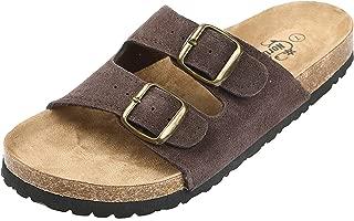 Northside Womens Mariani Leather Strap Cork Sandal