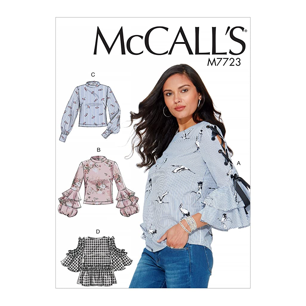McCall's Patterns M7723E50 Misses' Tops