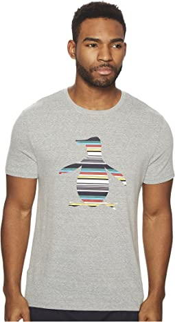 Engineered Stripe Pete Fill Tee