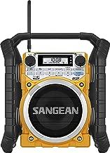 Sangean U4 AM/FM-RBDS/Weather Alert/Bluetooth/Aux-in Ultra Rugged Rechargeable Digital Tuning Radio (Certified Refurbished)