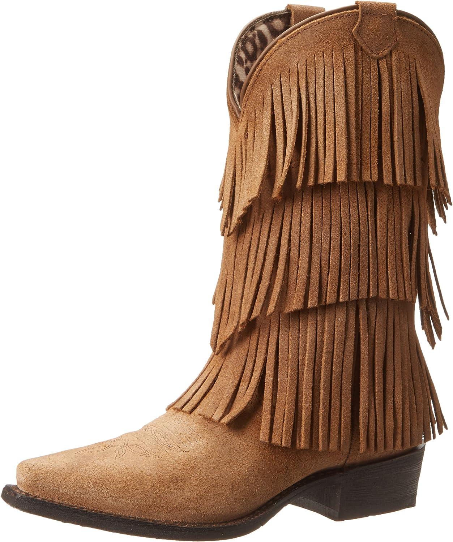 Dingo Women's Tres Fringe Western Boot