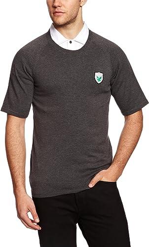Lyle & Scott vert Eagle T-Shirt en Tricot pour Homme