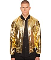 Versace Collection - Shiny Gold Bomber