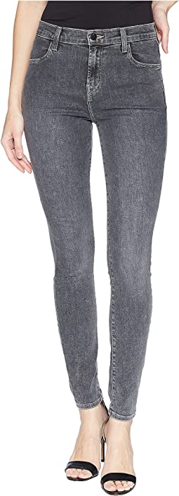 J Brand Maria High-Rise Skinny Jeans is Obscura