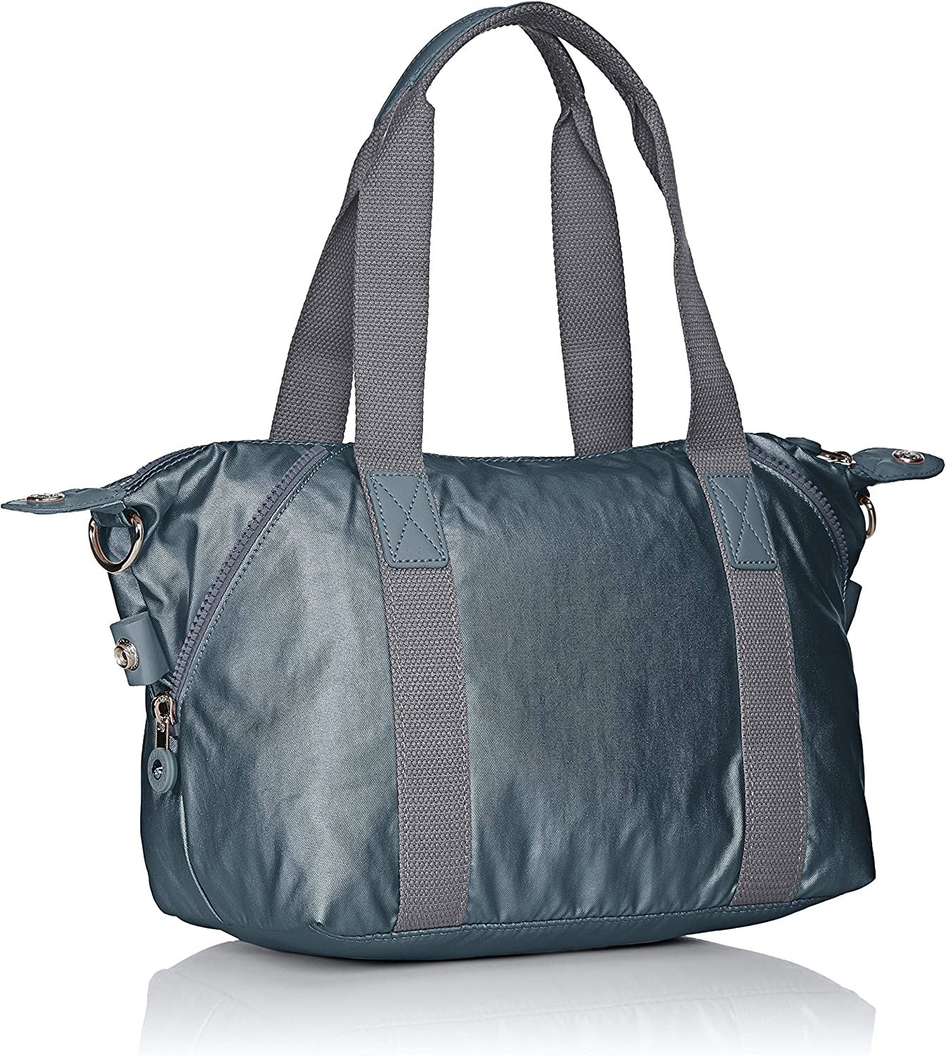 Kipling Art Mini, Cartables Gris (Steel Gr Metal)