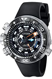 Citizen Eco-Drive Men's BN2029-01E Promaster Aqualand Depth Meter Analog Display Black Watch 4.6 out of 5 stars 119 $712.50$712.50$950.00$950.00 Ships to United Kingdom