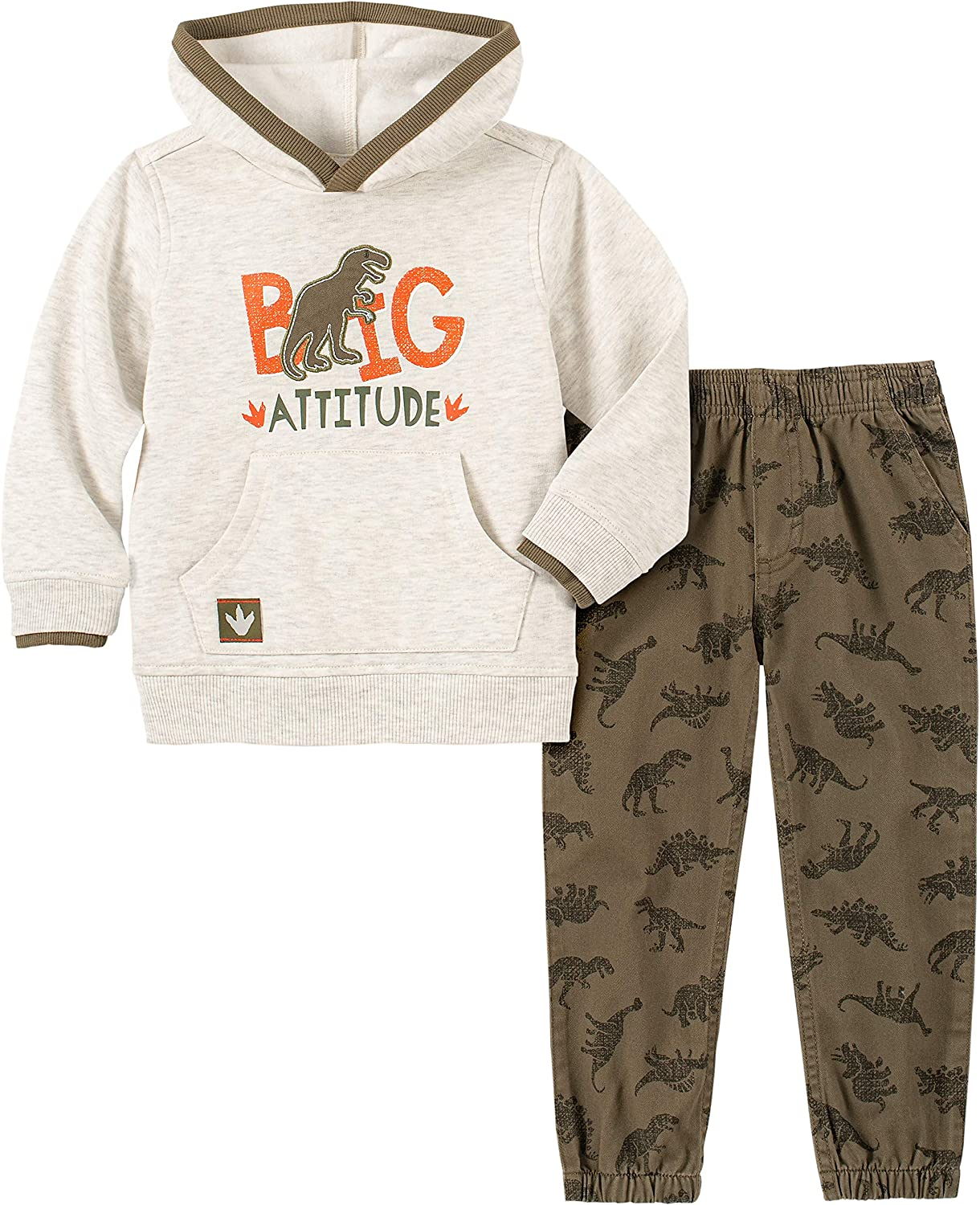 Kids Headquarters baby-boys 2 Pieces Hooded Pants Set