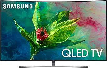 "Samsung 7 Series - Curved 55"" QLED 4K UHD Smart TV, 2018"