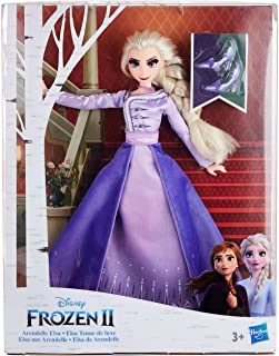Disney Frozen Arendelle Elsa Fashion Doll With Detailed Ombre Blue Dress Inspired by Disney's Frozen 2 - Toy For Kids Ages...