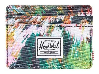 Herschel Supply Co. Charlie RFID (Pixel Floral) Wallet Handbags