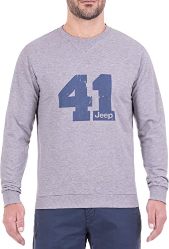 Jeep Sweat-Shirt léger col Rond 41j8s Coton Round Neck