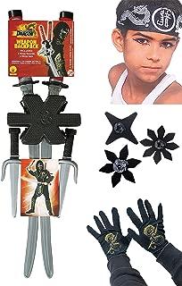 Rubie's All Ages Dress-up Fun Costume Accessory Kit, Ninja