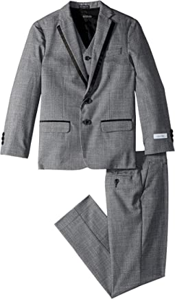 Calvin Klein Kids - Twist on Twist Three-Piece Suit (Big Kids)