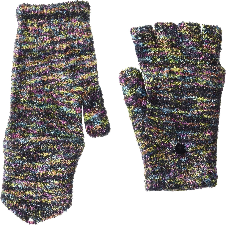 Steve Madden Women's Space Dye Convertible Magic Tailgate Glove, One Size