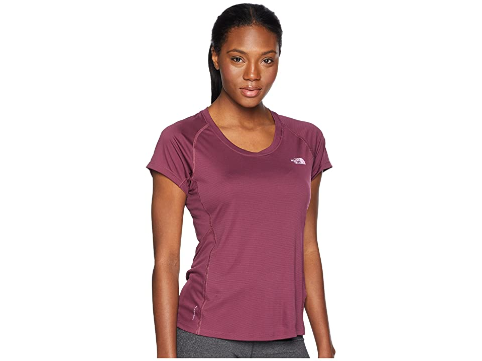 The North Face Ambition Short Sleeve Tee (Crushed Violets) Women