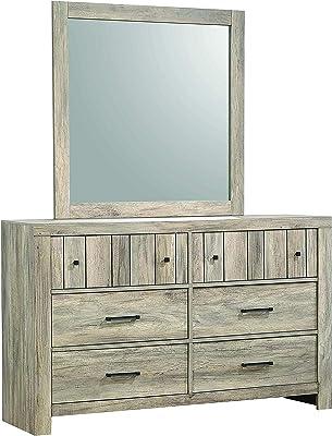 Coaster Home Furnishings Adelaide Rectangle Rustic Oak Mirror