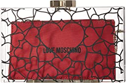 LOVE Moschino Clear Evening Clutch
