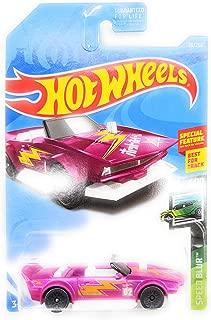 Hot Wheels 2019 Basic Vehicle Speed Blur: Track Manga (Pink)