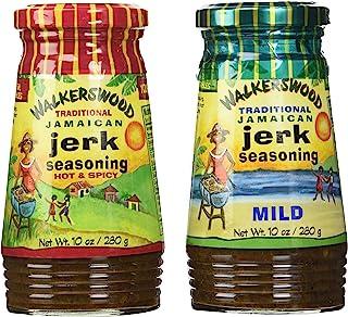 Walkerswood Jamaican Jerk Seasoning Mixed Pack - 10 Oz Each Mild, Hot & Spicy