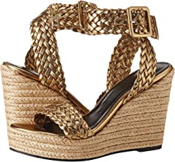 Sonia Rykiel - Laminated Sheepskin Wedge