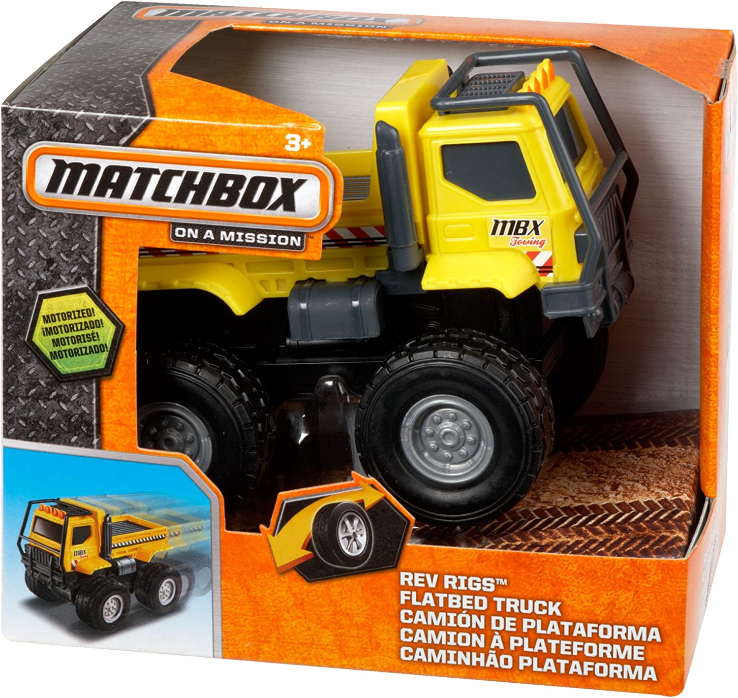Factory outlet Matchbox Rev Rigs security Truck Flatbed