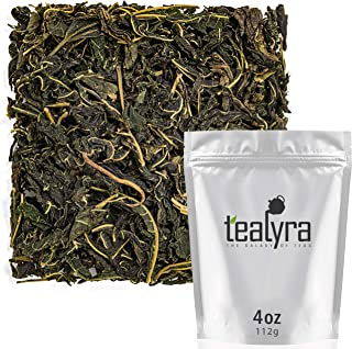 Tealyra - Rare White Mulberry Leaf Tea - From Thailand - Organically Grown - Healthy Herbal Loose Leaf - Natural Blood Sug...